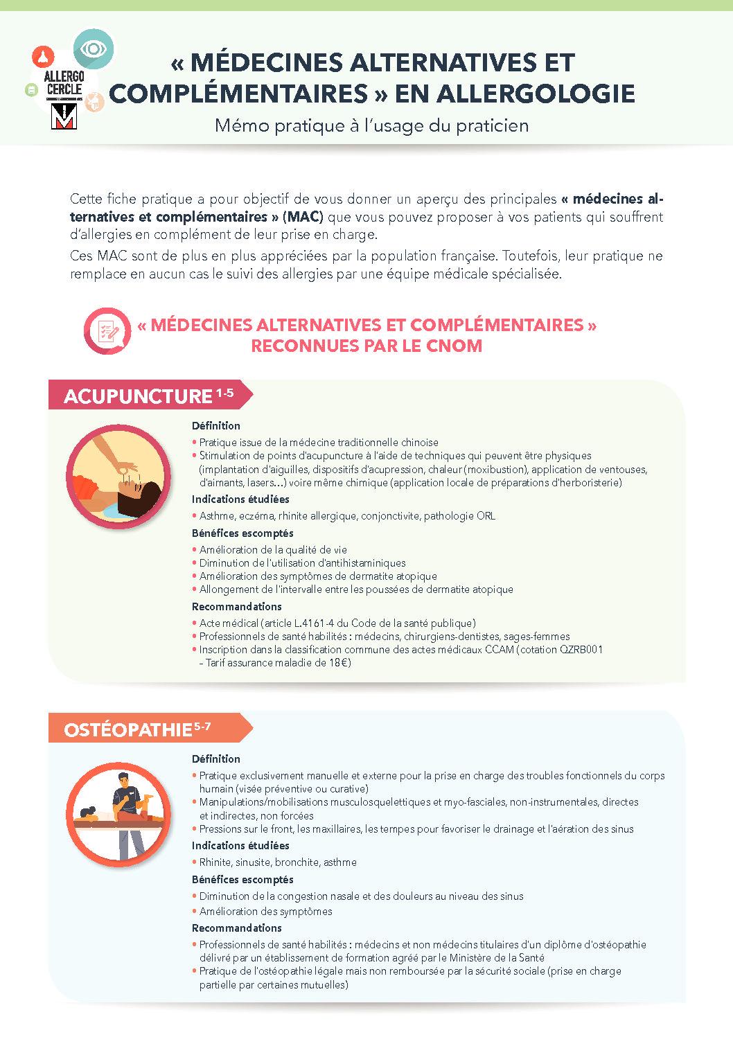 medecines alternatives et complementaires